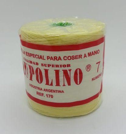 Hilo de nylon encerado torcionado n°7 Lupolino