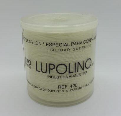 Hilo de nylon coser a black Lupolino